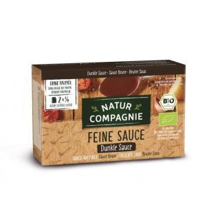 Dunkle Sauce feinkörnig