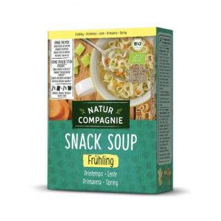 Fixe Tasse Frühlings-Suppe