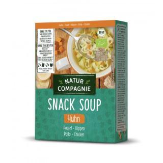 Fixe Tasse Hühner-Suppe