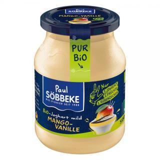 Joghurt Pur Bio Mango-Vanille 3,8%