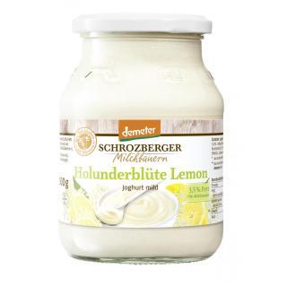 Joghurt Holunderblüte-Lemon