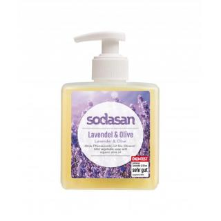 Flüssigseife Lavendel-Olive