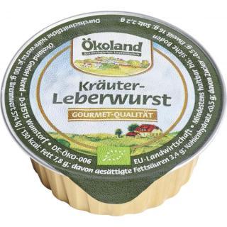Feine Kräuterleberwurst, Dose